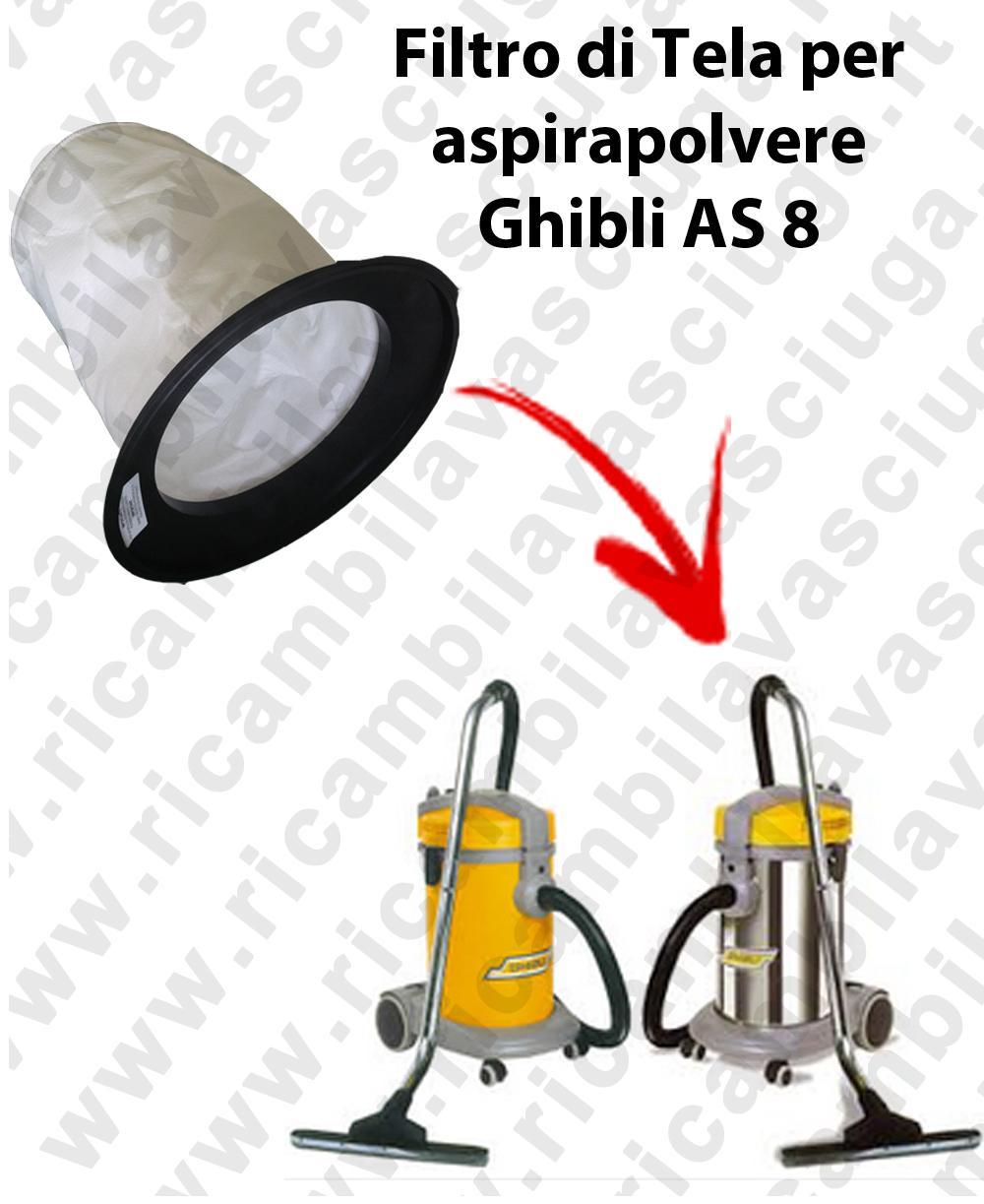 FILTRO TELA PER aspirapolvere GHIBLI modello AS 8