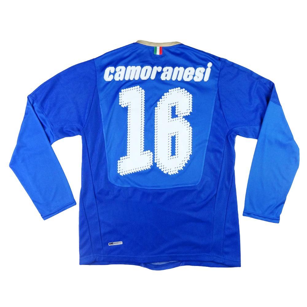 2007-08 Italia Maglia Home #16 Camoranesi M