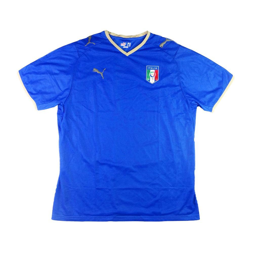 2007-08 Italia Maglia Home XL