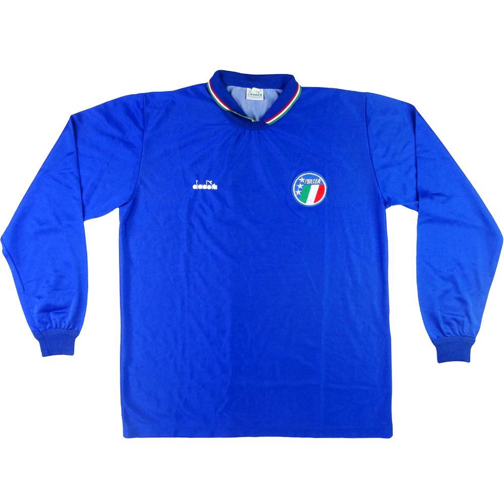 1986-90 Italia Maglia Home L