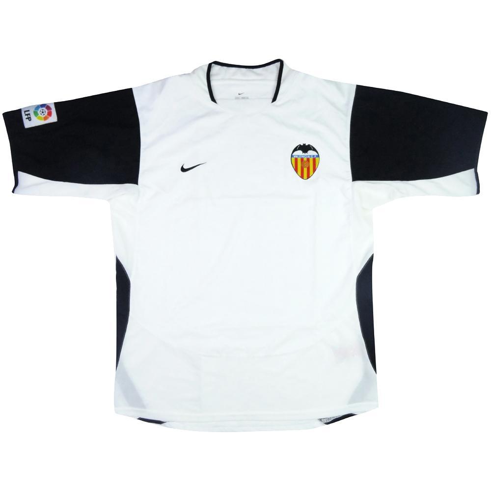 2003-04 Valencia Maglia Home M