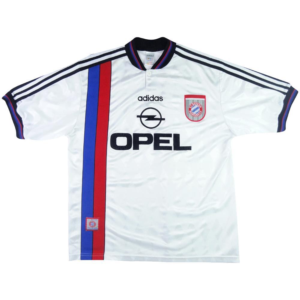 1995-96 Bayern Monaco Maglia Away L