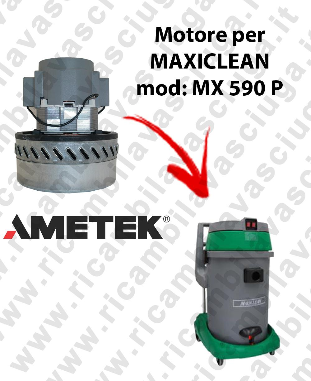 MX 590 P MOTORE AMETEK di aspirazione per aspirapolvere e aspiraliquidi MAXICLEAN