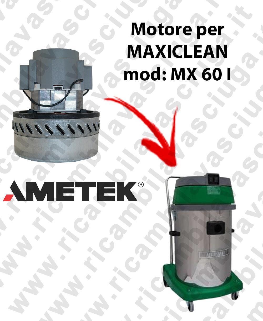 MX 60 I MOTORE AMETEK di aspirazione per aspirapolvere e aspiraliquidi MAXICLEAN