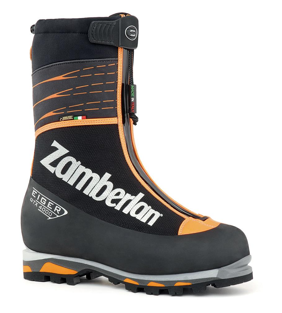 4000 EIGER GTX RR   -   Scarponi  Alpinismo   -   Black/Orange