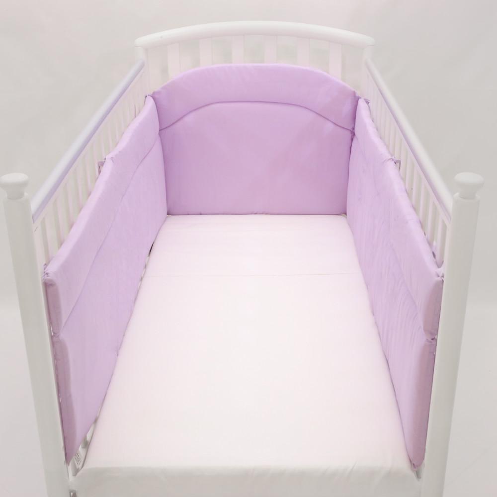 Paracolpi lettino lati lunghi fabbricato in Italia Babysanity lilla