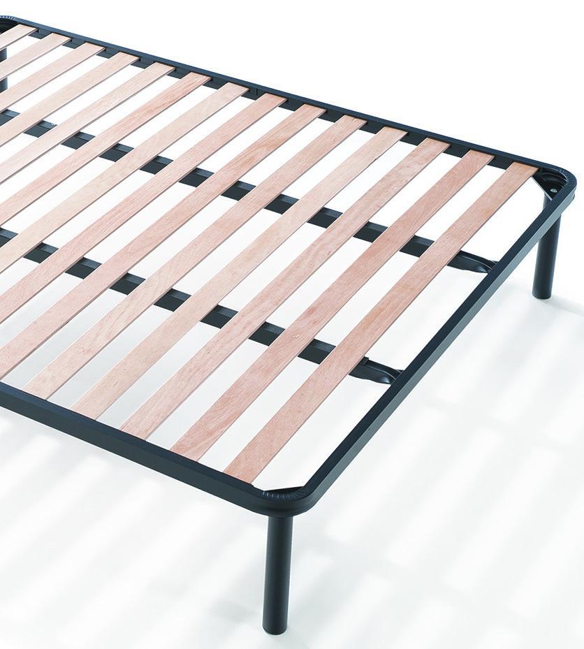 rete in ferro a doghe matrimoniale ortopedica apple. Black Bedroom Furniture Sets. Home Design Ideas