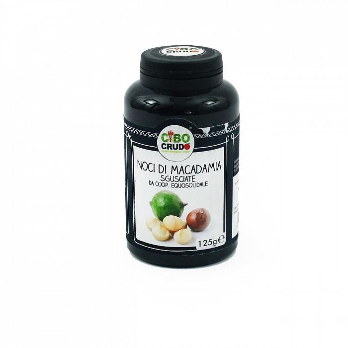 Noci di Macadamia Crude Sgusciate 250g