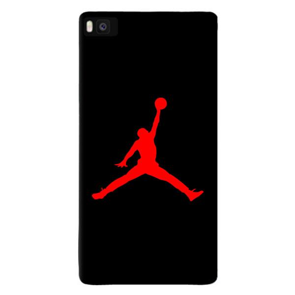 JORDAN AIR RED cover per Huawei vari modelli