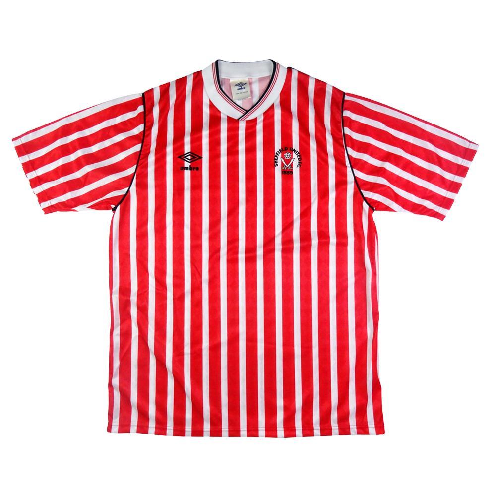 1987-90 Sheffield United Home Maglia L (Top)