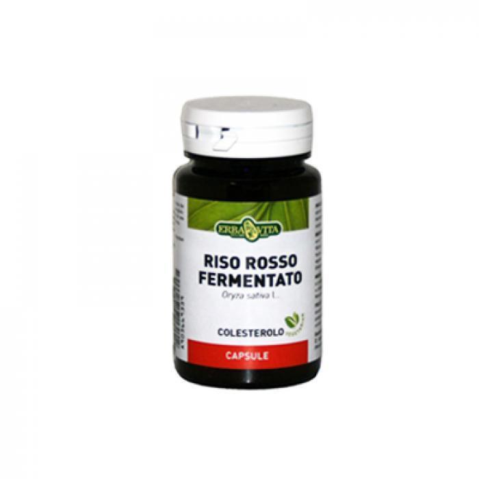 RISO ROSSO FERMENTATO - INTEGRATORE COLESTEROLO ERBAVITA  60 CAPSULE VEGETALI
