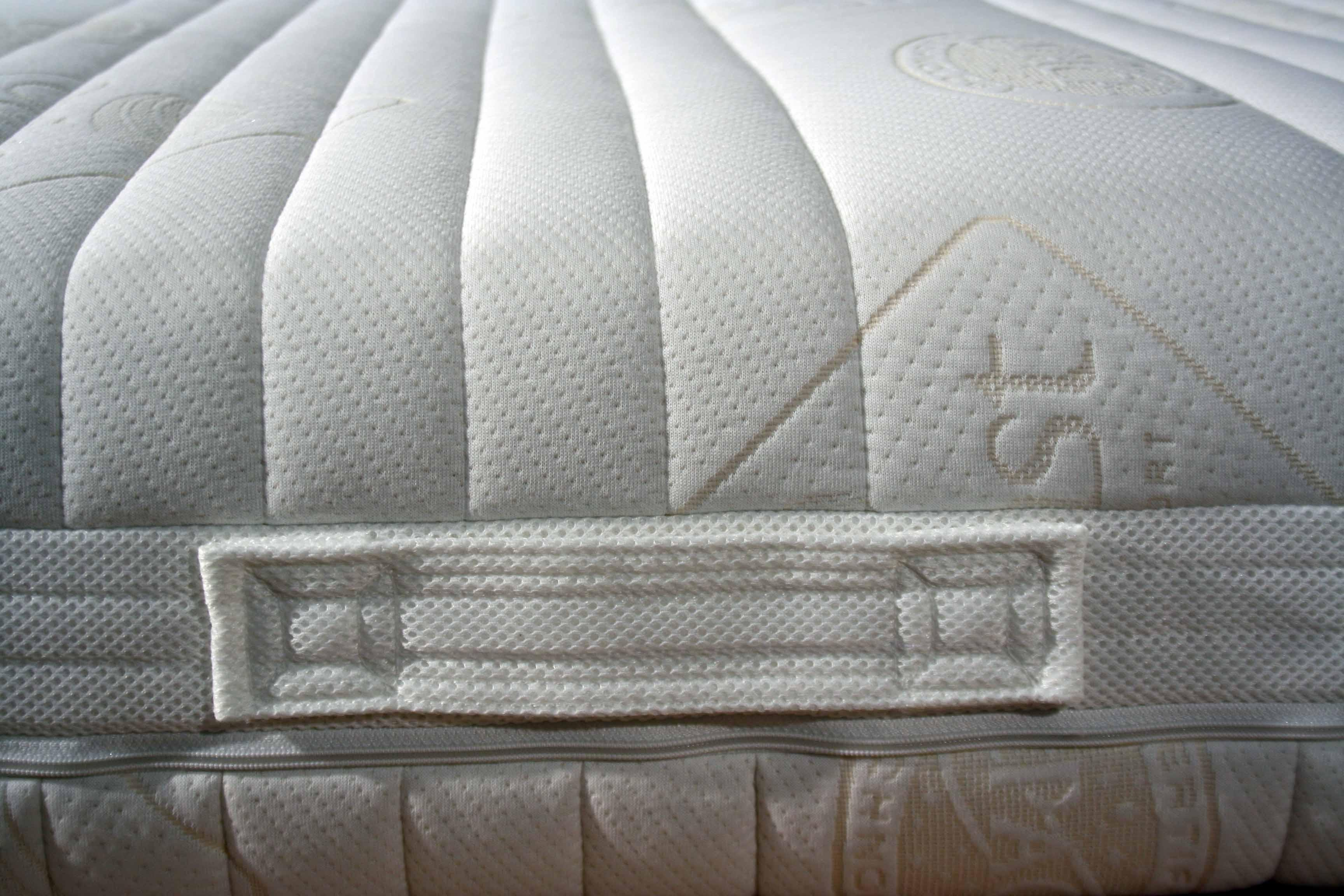 Materasso per letto singolo in lattice 85x190 7 zone sfoderabile fodera lavabile ebay - Materasso per poltrona letto ...