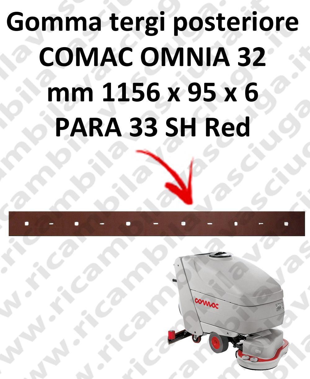OMNIA 32 GOMMA TERGI posteriore per tergipavimento COMAC