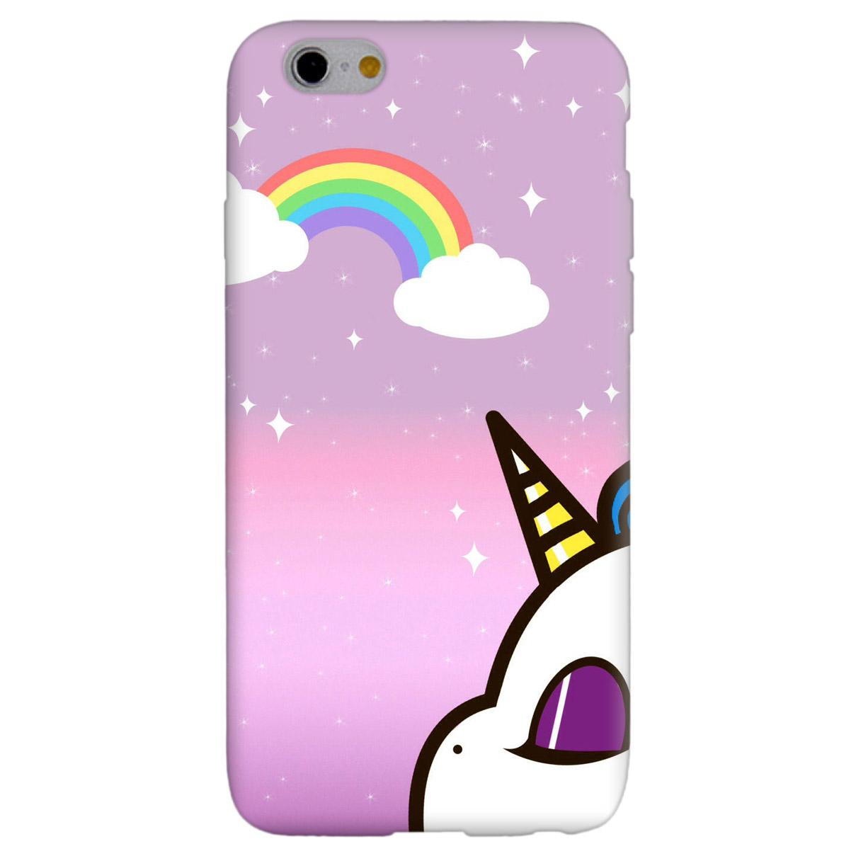 custodia iphone se unicorno
