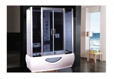 Cabina doccia idromassaggio sauna bagno turco 170x85 - Cabina doccia con sauna e bagno turco ...