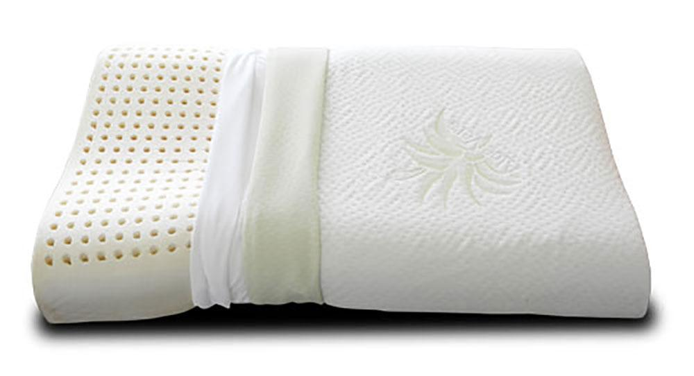 oreiller cervical en latex 100 hypoallerg nique latex cervical. Black Bedroom Furniture Sets. Home Design Ideas