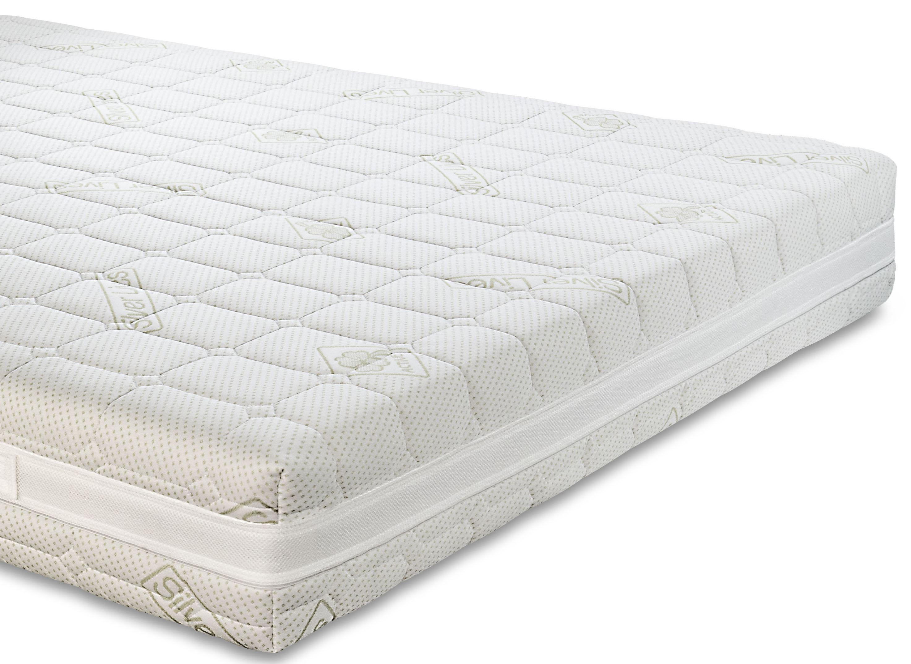 matelas memoire de forme orthopedique avec 7 zones de durete h 20 cm silver m ebay. Black Bedroom Furniture Sets. Home Design Ideas