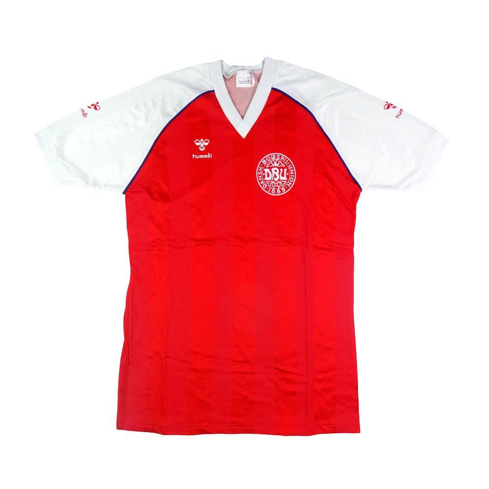 1984-86 Danimarca Home Maglia M (Top)