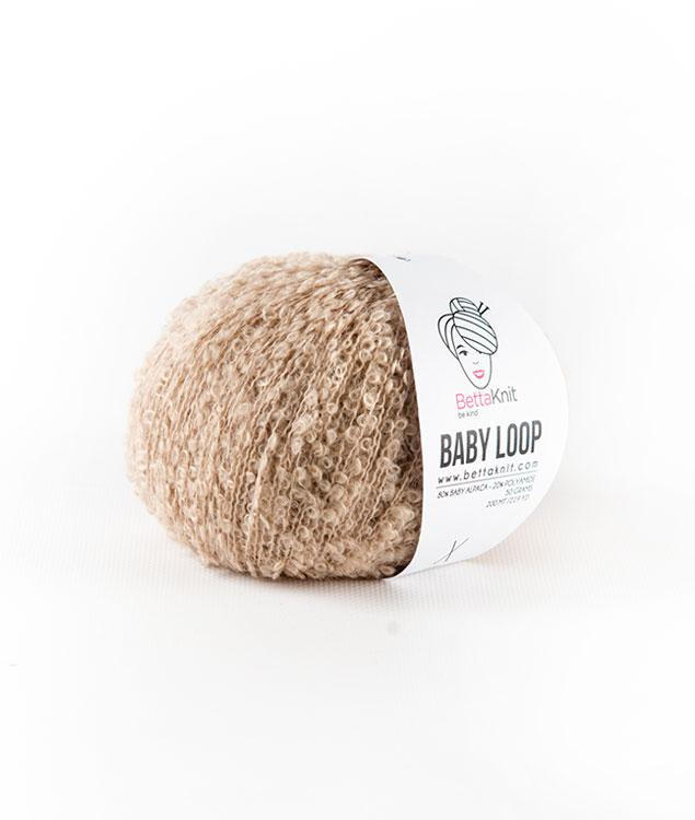 Wool - Yarns - BABY LOOP - 1