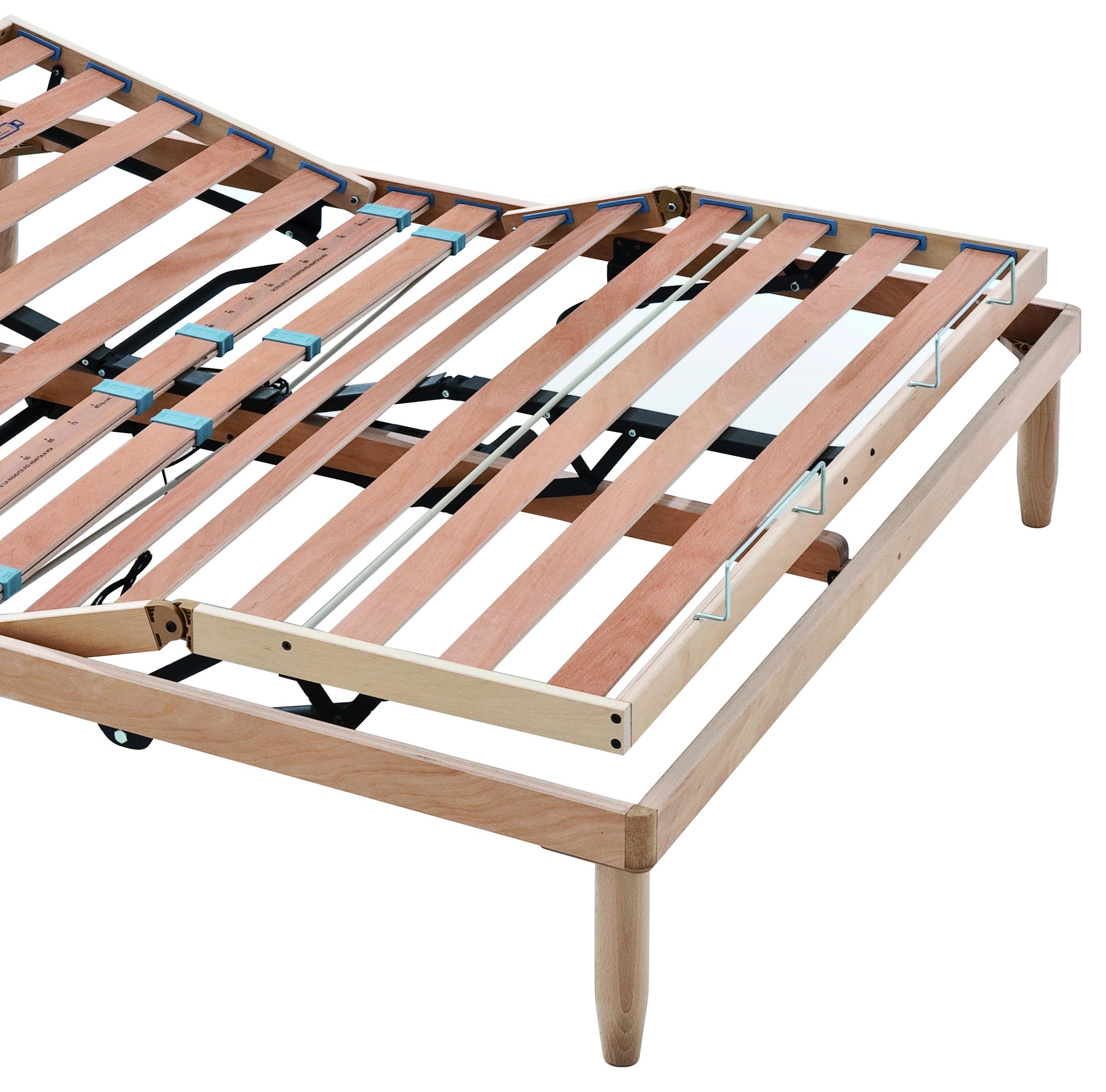 KIT Materasso lattice Latex Cool con rete a scelta + cuscino ...