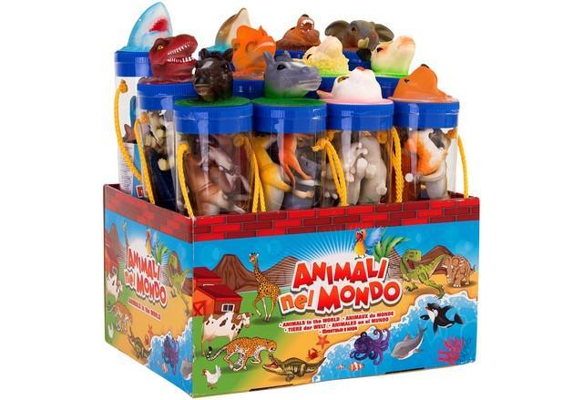 ANIMALE IN TUBO 27CM 32354 GLOBO DISPLAY