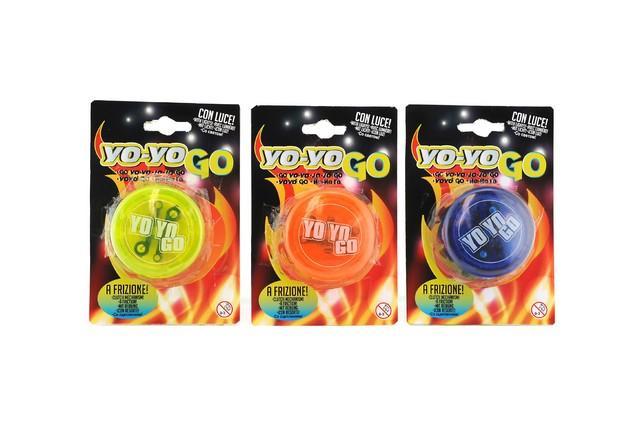 YOYO A FRIZIONE C/LUCE 35095 GLOBO