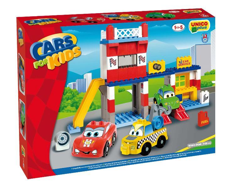 UNICOPLUS GARAGE SERVICE CARS FOR KIDS 8563-0CAR ANDRONI