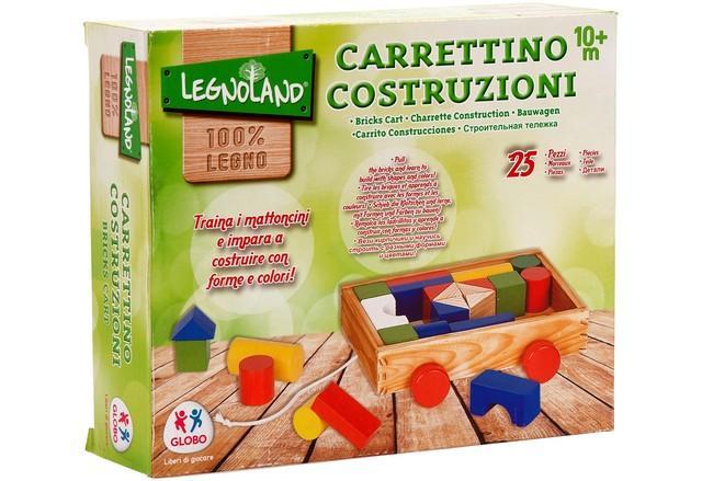 CARRETTO TRAINABILE LEGNO 36076 GLOBO