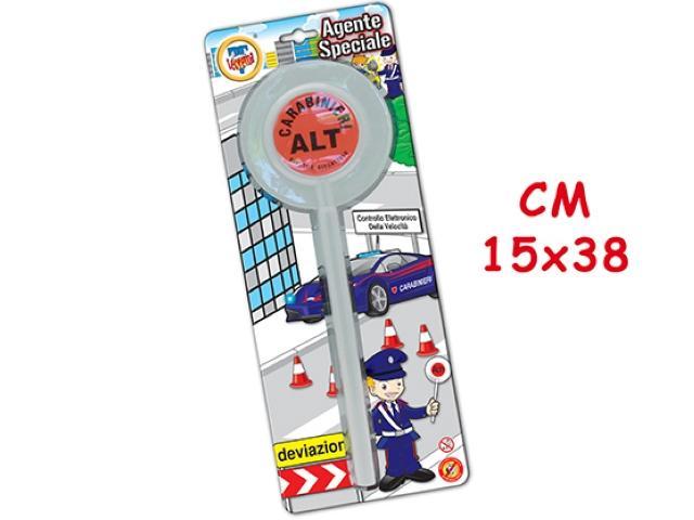 PALETTA AGENTE SPECIALE IN BLISTER CARD 61761 TEOREMA