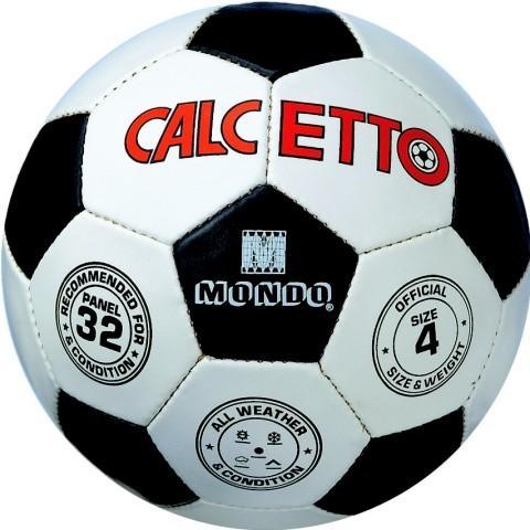 PALLONE CUOIO CALCETTO N.4 13106 MONDO S.P.A.