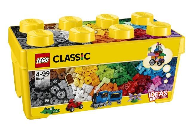 LEGO Classic Scatola mattoncini creativi media LEGO     10696 LEGO S.P.A.