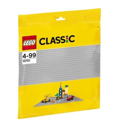 LEGO Classic Base grigia 10701 LEGO S.P.A.