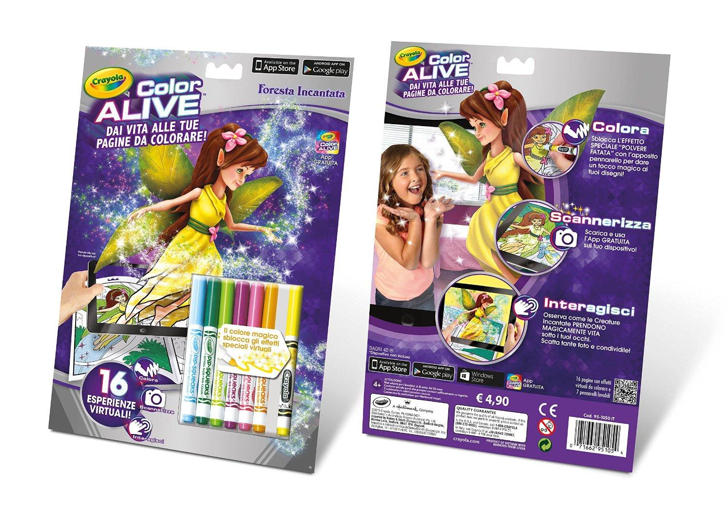 COLOR ALIVE FORESTA INCANTATA 95-1050 BINNEY e SMITH