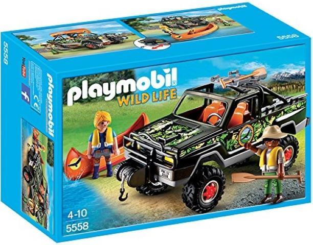 Pickup-avventura con canoa 5558 PLAYMOBIL