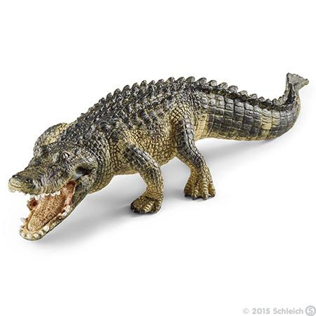 SCHLEICH ALLIGATORE (5) 2514727 LITTLE TIKES SELEGIOCHI