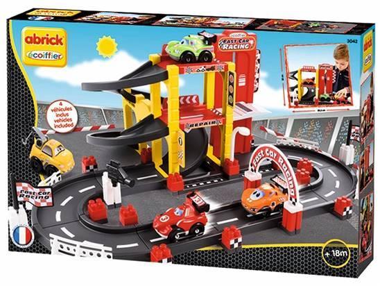 Abrick Garage e Pista F1, con 4 veicoli 7600003042 SIMBA NEW