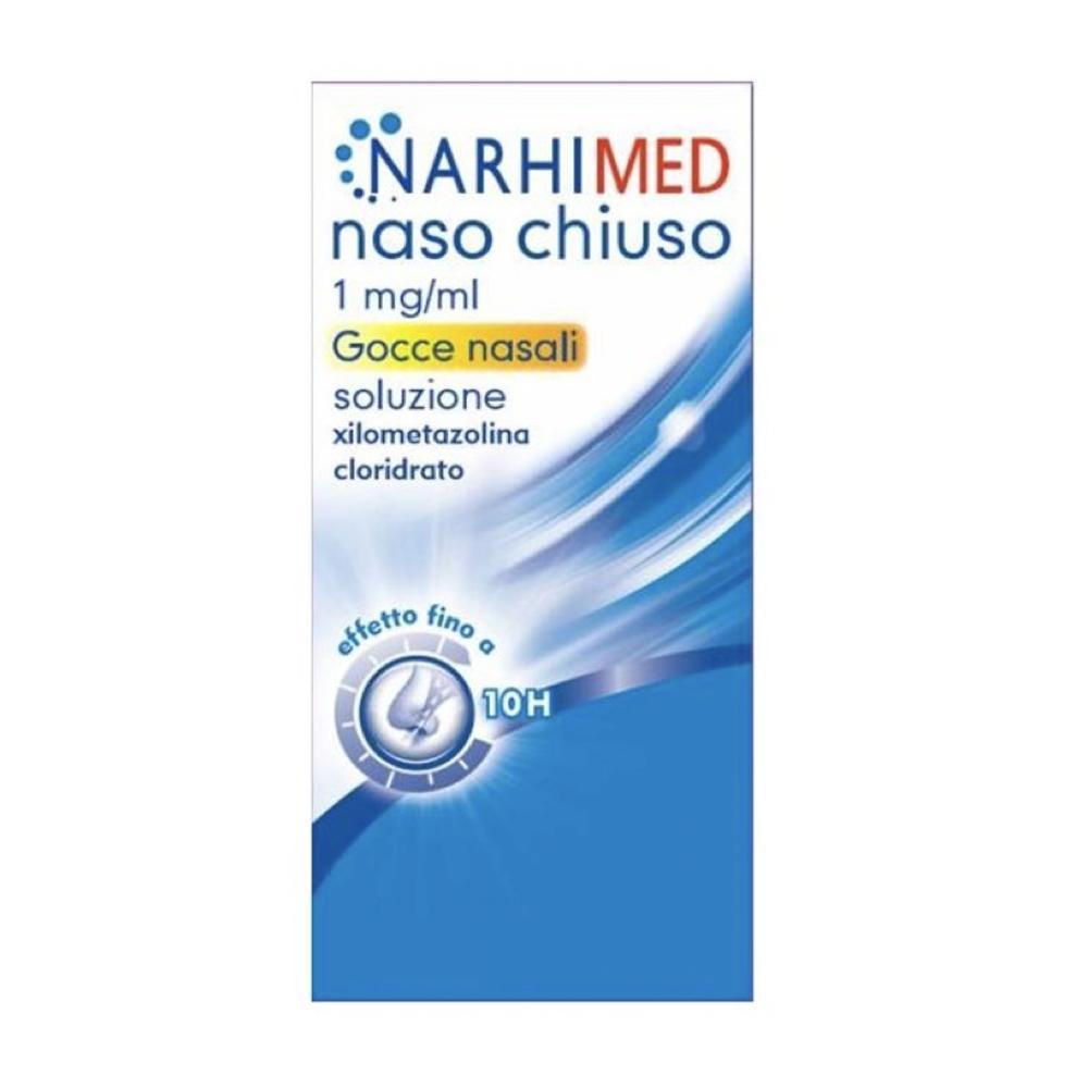 NARHIMED - NASO CHIUSO GOCCE DECONGESTIONANTE DELLA MUCOSA NASALE