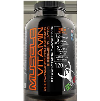 MUSCLE VITAMIN - Vitamine e Aminoacidi per la Crescita Muscolare