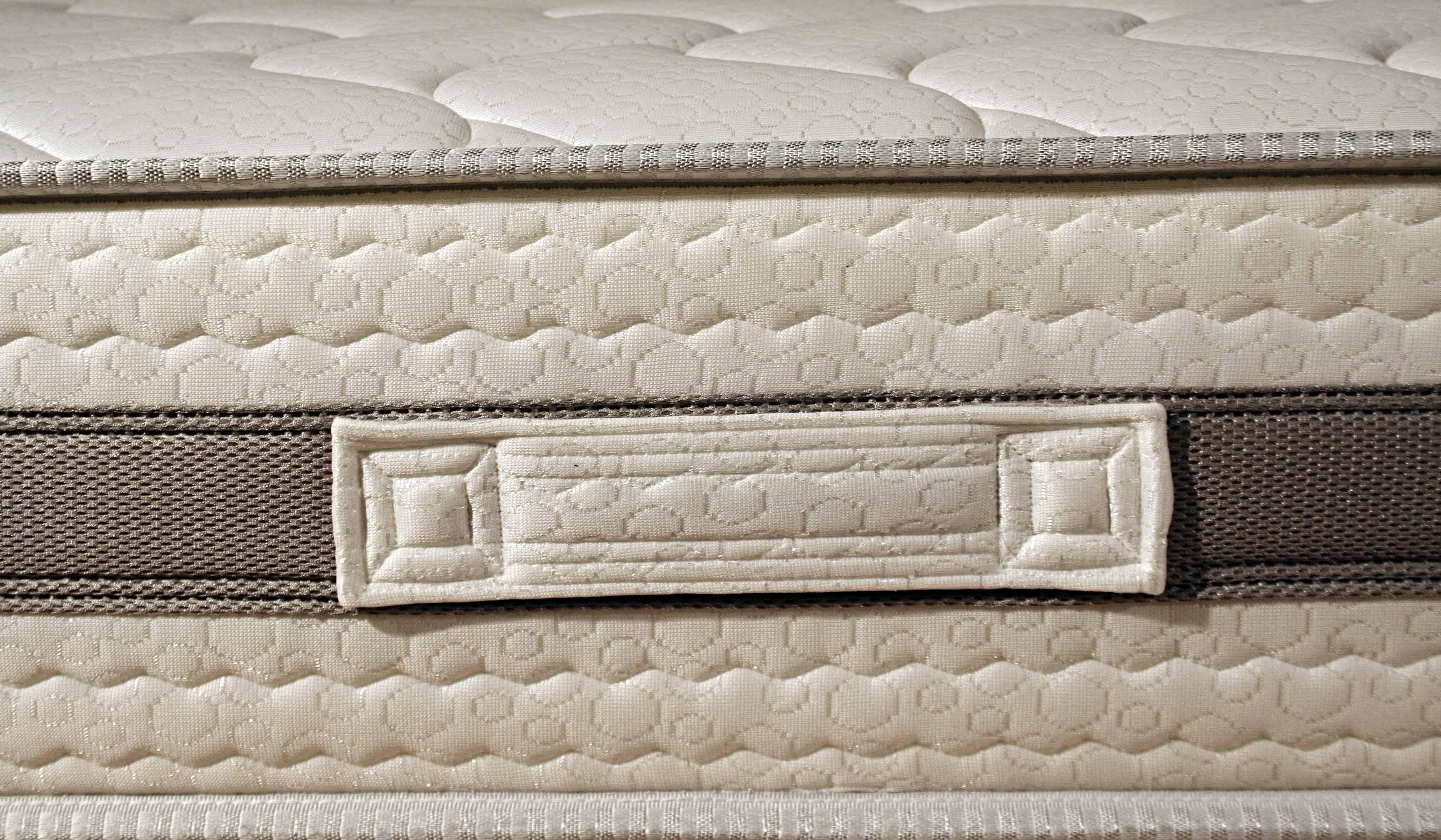 matratze mit 4 oder 6 cm viscoschaum und kaltschaum in wellenform allen gr en ebay. Black Bedroom Furniture Sets. Home Design Ideas