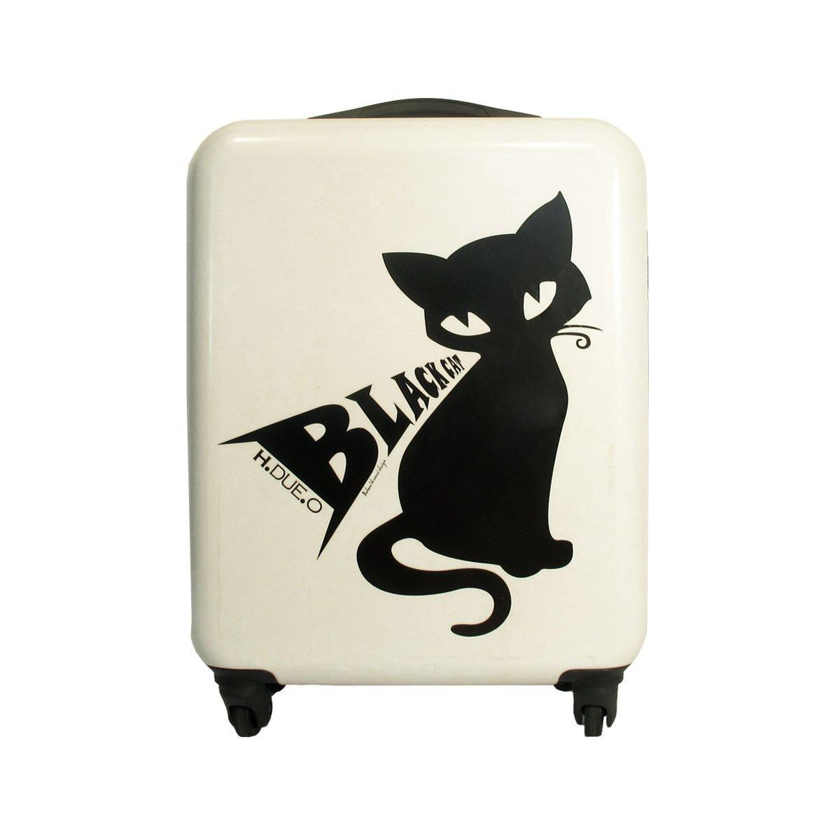 Black cat trolley da cabina ryanair bianco e nero th10 for 20 x 40 planimetrie della cabina