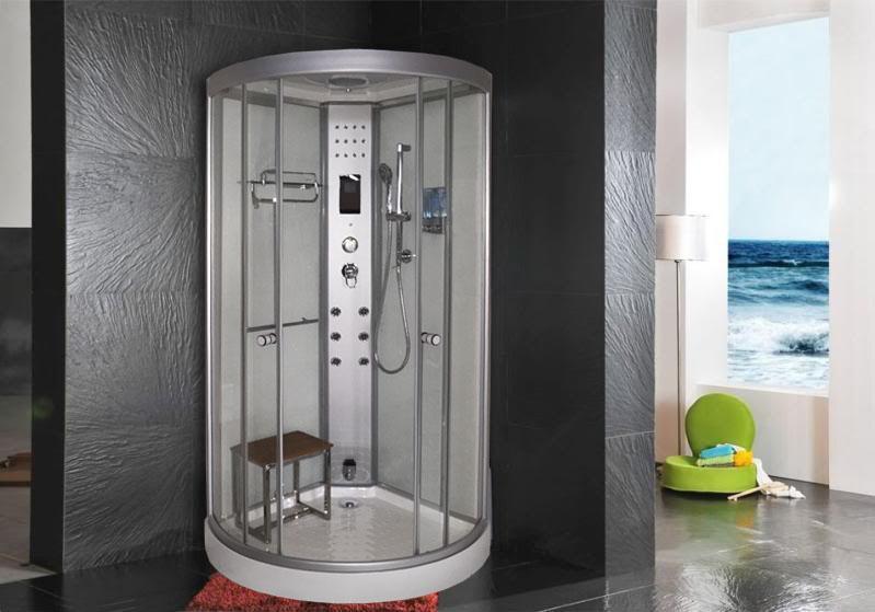 Cabina doccia idromassaggio 90x90 - Cabina doccia con sauna e bagno turco ...