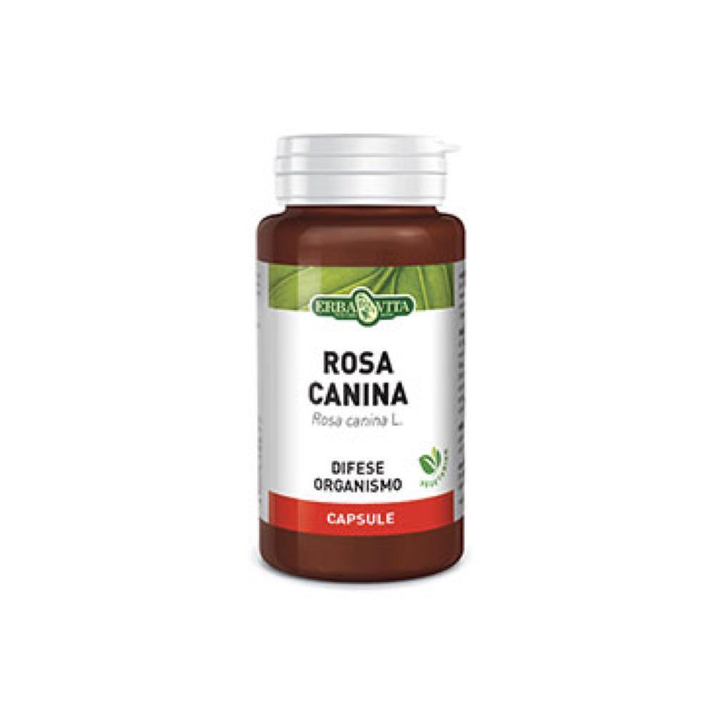 ROSA CANINA - INTEGRATORE ALIMENTARE UTILE PER AUMENTARE LE DIFESE DELL'ORGANISMO ERBAVITA 60 CAPSULE