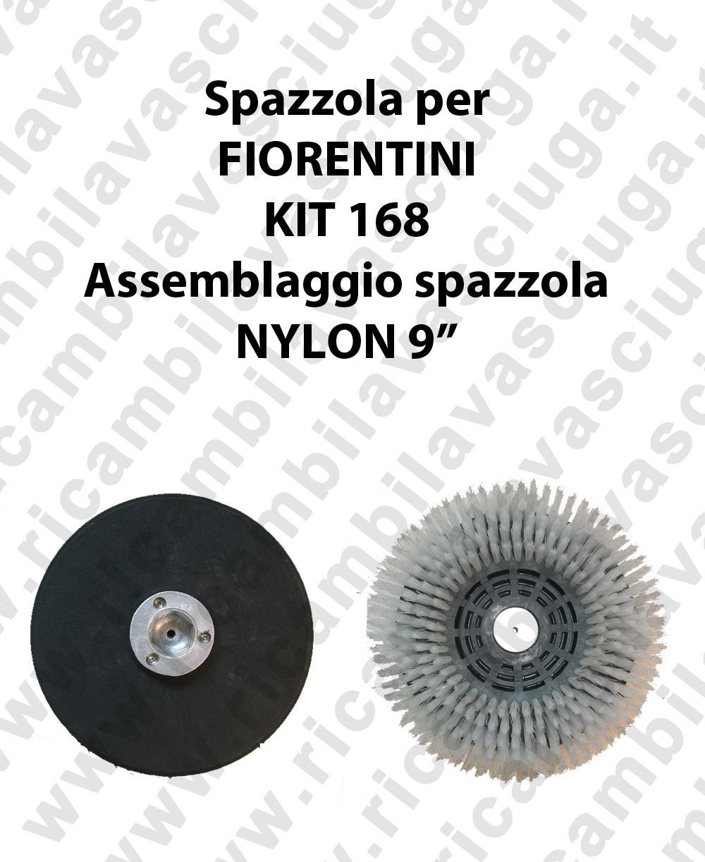 Spazzola NYLON per lavapavimenti FIORENTINI KIT 168