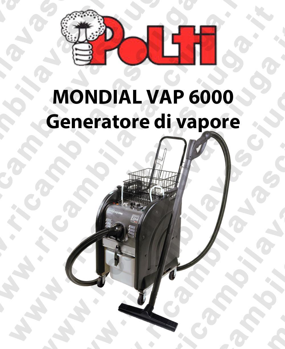 POLTI MONDIAL VAP 6000 generatore di vapore professionale