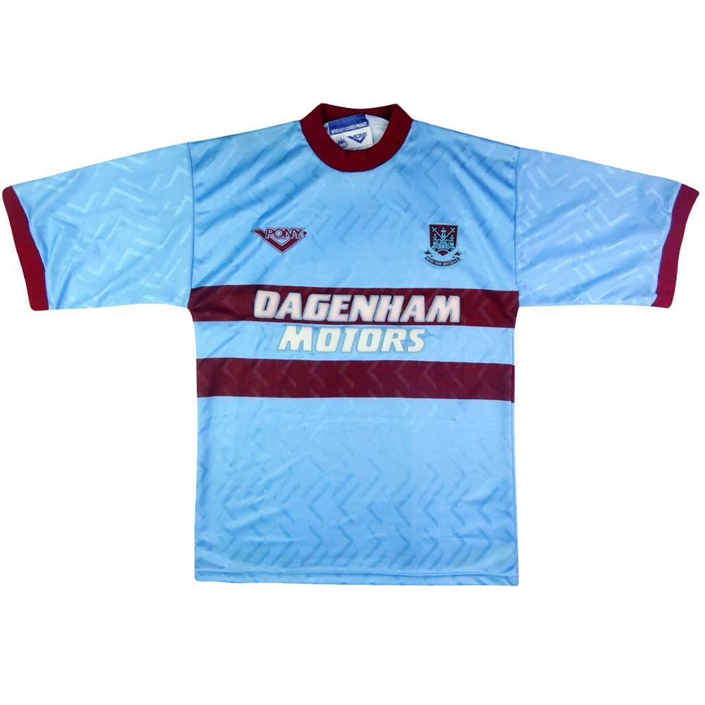 1993-95 West Ham Maglia Away S (Top)
