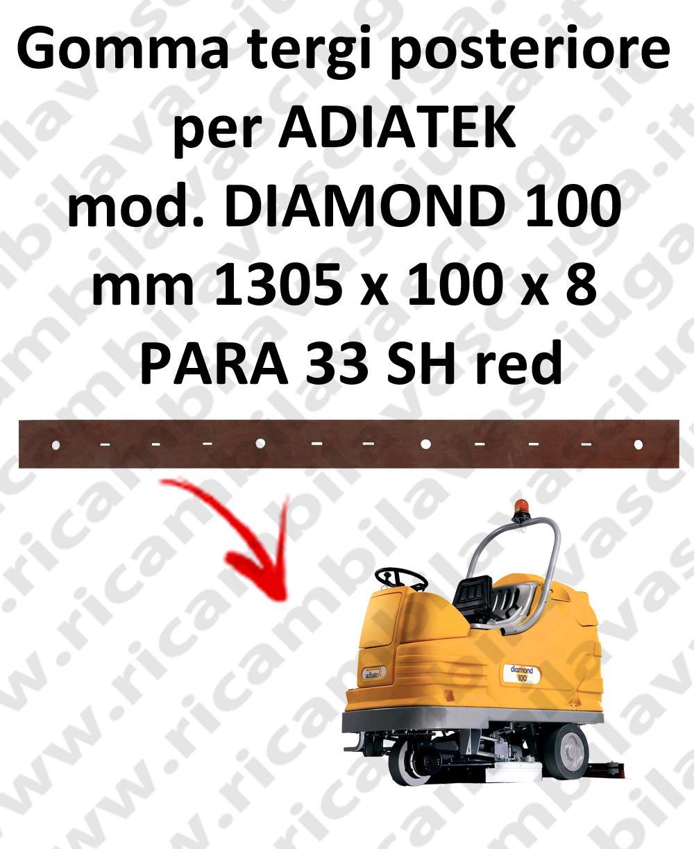 DIAMOND 100 GOMMA TERGI posteriore per lavapavimenti ADIATEK