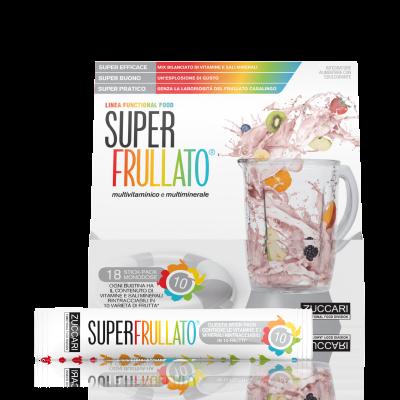 SUPER FRULLATO - INTEGRATORE MULTIVITAMINICO NATURALE IN BUSTINE