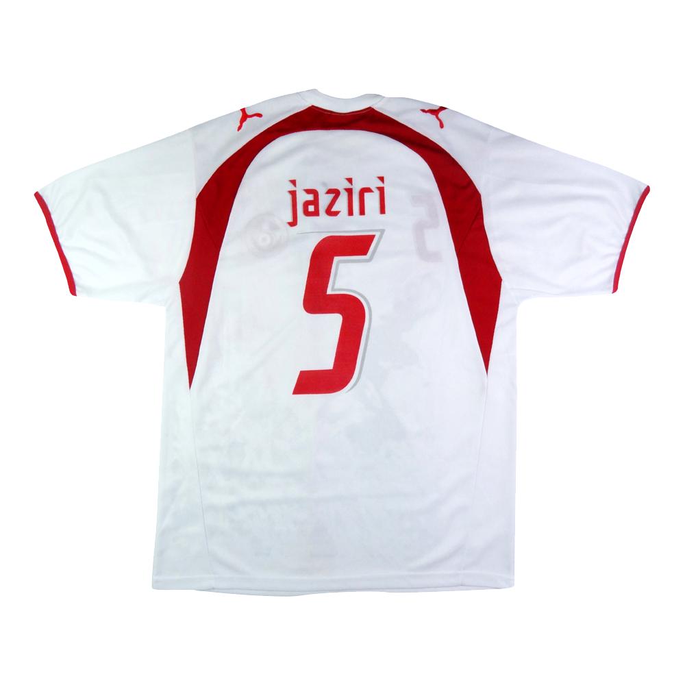 2006-07 Tunisia Maglia Jaziri #5 Home XL (Top)