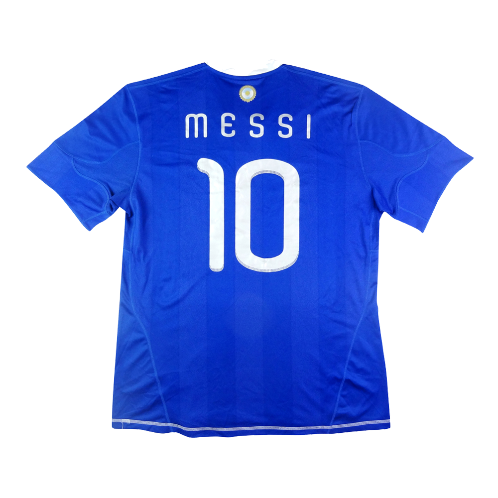 2010-11 Argentina Maglia Messi XL #10  (Top)