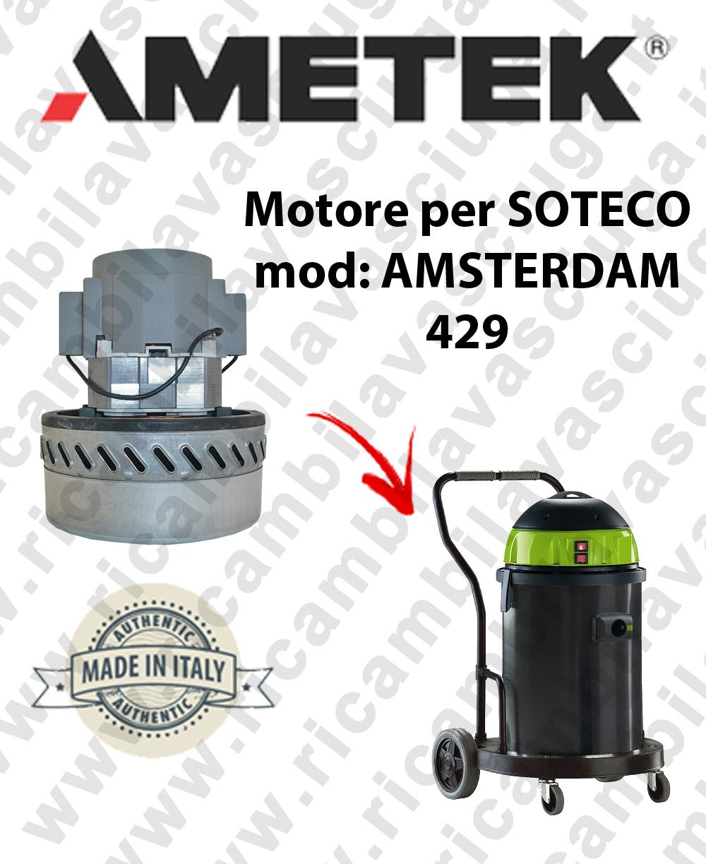 AMSTERDAM 429 MOTORE ASPIRAZIONE AMETEK  per aspirapolvere SOTECO